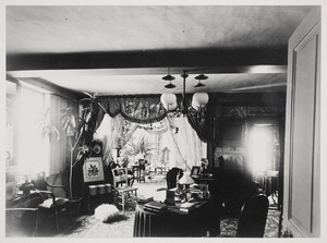 Interior view of the Dorothy Quincy House, parlor, Quincy, Mass., undated