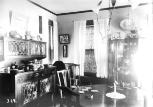Thorpe House, Rochester, Mass., Dining Room.