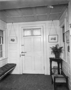 Interior view of Pickering House, entrance hall, Salem, Mass., undated