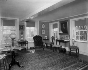 Interior view of Pickering House, parlor, Salem, Mass., undated