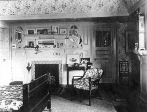 Emerton House, 328 Essex St., Salem, Mass., bedroom