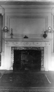 Assembly House, 138 Federal St., Salem, Mass., fireplace