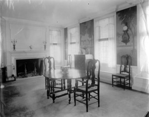 Henry G. Vaughn House, Sherborn, Mass., Dining Room.