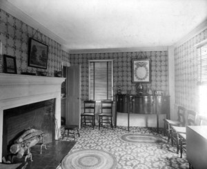 Aldrich House, Portsmouth, N.H., dining room