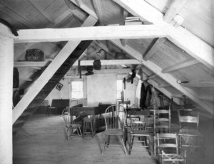 Aldrich House, Portsmouth, N.H., attic