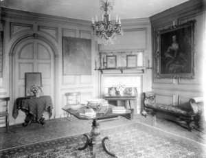 Interior view of the Warner House, parlor, Portsmouth, New Hampshire, 1909-1913