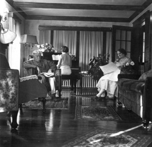A. Gilford Ramsdell House, South St., Brookline, Mass., parlor