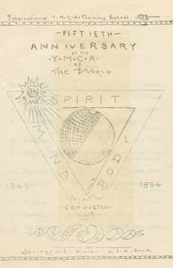 Fiftieth Anniversary of the YMCA of the World, June 6, 1894