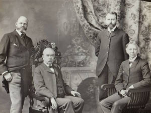First Four Presidents: Laurence L. Doggett, David Allen Reed, Charles Henry Barrows, and Henry S. Lee
