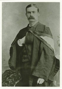 Print of Cabinet Card of Dr. James Naismith, late 1880s