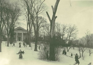 Winter fun on Mount Pleasant Hill in Amherst