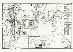 Map of Amherst, 1873