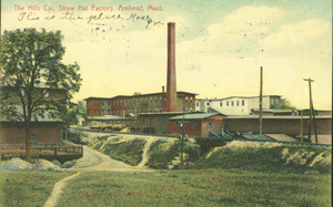 Hills Company hat factory in Amherst
