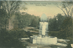 Cook Fountain in Sweetser Park in Amherst