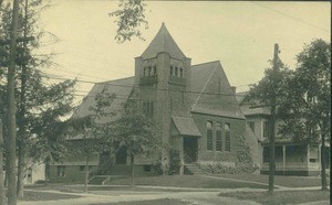 Unitarian Universalist meetinghouse in Amherst
