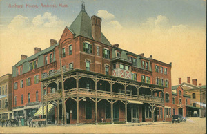 Amherst House hotel and business block