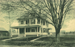 Amherst Home For Aged Women in North Amherst