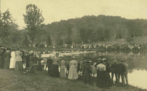 Tug of war at Massachusetts Agricultural College