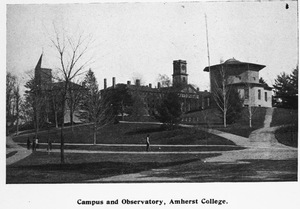 Amherst College campus and Observatory