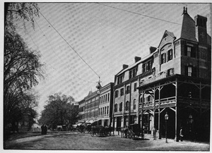 South Pleasant Street and Merchants' Row in Amherst