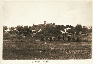 Amherst College Hill from the southwest
