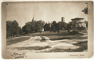Amherst College Hill from the west