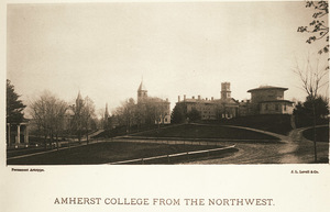 Amherst College Hill from the northwest