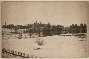 Amherst College Hill from the northeast