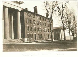 South College dormitory at Amherst College