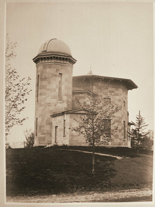 Woods Cabinet and Lawrence Observatory at Amherst College