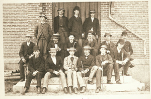 Group portrait of Amherst College students