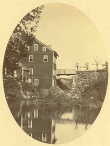 Paper mill in North Amherst