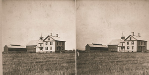 College Farmhouse and barns at Massachusetts Agricultural College in Amherst