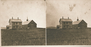 College Farmhouse and barns at Massachusetts Agricultural College