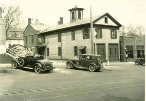 Old fire station and police building