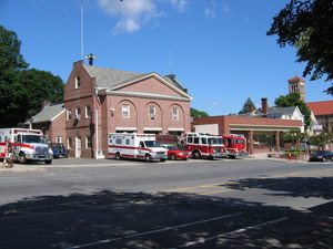 Central Fire Station, North Pleasant Street