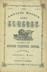 Amherst Record Home Almanac