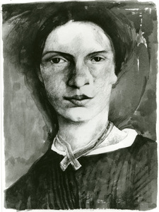 Drawing of Emily Dickinson