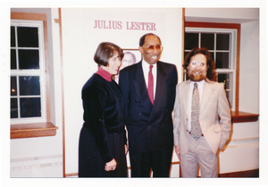 Dedication of Julius Lester Collection