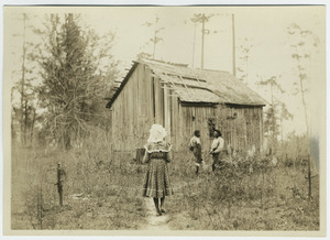 Black children and their schoolhouse