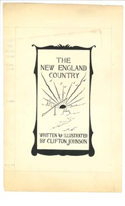 Illustration for the cover of The New England Country