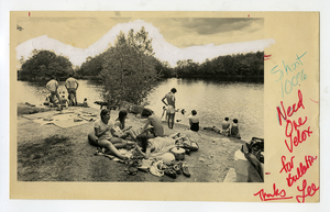 Picnic at Puffer's Pond, Amherst