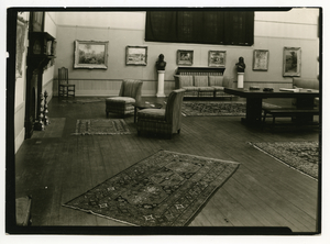 Interior of The Mead Art Museum at Amherst College