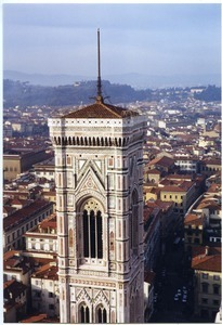 Giotto's Bell Tower at the Cathedral of Saint Mary of the Flower