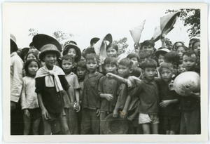 Children in Thái Bình village