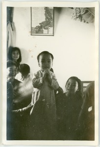 Family in Thái Bình village