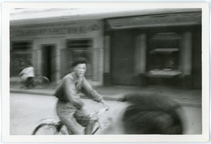 Cyclist, Old Quarter