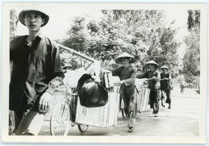 Bicycle freight brigade, Thái Bình province