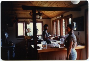 Mark and Sandi Sommer in kitchen, Salmon Creek house