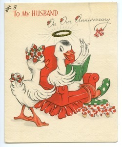 Anniversary Card from Edith Henry to Carl Henry